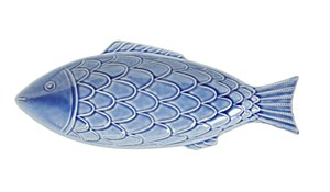 B&T Delft Blue Fish Platter