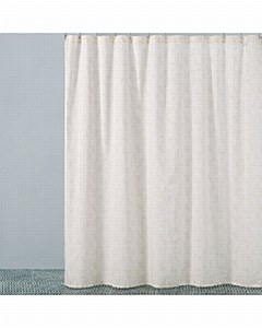 Nikita Shower Curtain, Champag