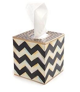 Zig Zag Tissue Box Cover