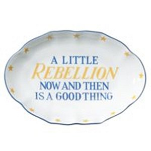 """""""A Little Rebellion"""" Ring Tray"""