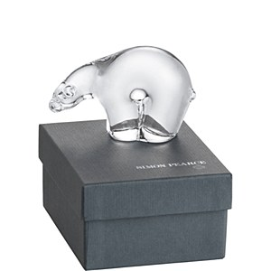 Polar Bear in Gift Box, Small