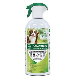 Advantage Spray Dog Pup 8oz