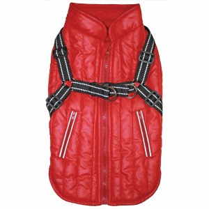 Harness Coat Red Lg