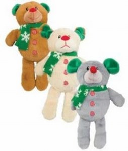 Holiday Bear Dog Mouse