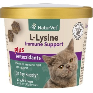 NatVat Cat L-Lysine Chews
