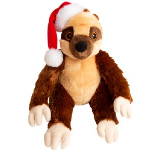 Snugar Sasha Sloth Santa