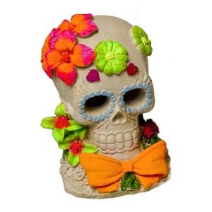 Sugar Skull Flower Ornament