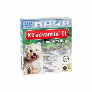 Advantix II 4pk Md Dog
