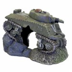 Army Tank With Cave