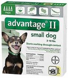 Advantage II Small Dog 4 Pack