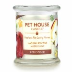 Pet House Candle Apple Cider