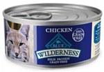 Blue Buffalo Wilderness Cat Chicken Can 5.5oz