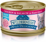Blue Wild Cat Chic Salmon 3oz