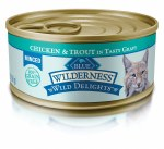 Blue Wild Cat Chic Trout Can