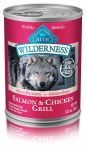 Blue Wild Salmon Dog Can