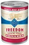 Blue Buff Freedom Beef Can