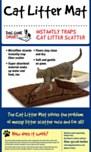 DGS Cat Litter Mat