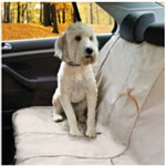 Kurgo Bench Seat Cover Grey