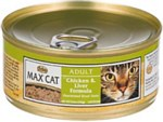 Max Cat CHIC/LIVER CAN 5.5 OZ
