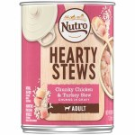 Nutro Hearty Stew Turkey Adult