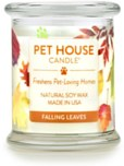 Pet House Candle Fall Leaves