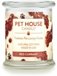 Pet House Candle Red Currant