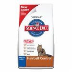 Science Diet Hairball Senior 4#