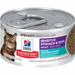 Sci Diet Sens Stom Cat Tuna