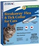 Zodiac Flea Collar Cat Breakaw