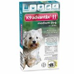 Advantix II 2pk Md Dog