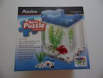 Aqueon Betta Puzzle Blue