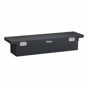 "72"" Crossover Truck Tool Box with Low Profile and Pull Handles"