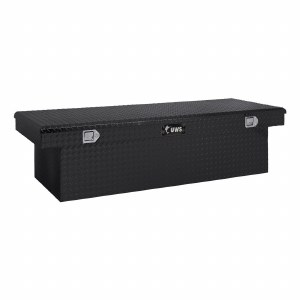 "69"" Deep Angled Extra Wide Crossover Truck Tool Box - Black"