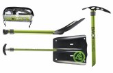 Rescue Shovel Plus Ice Axe
