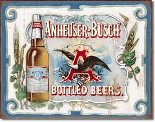 Busch Bottled Beer Tin Sign