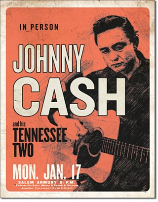 Cash & His Tennessee Two Tin