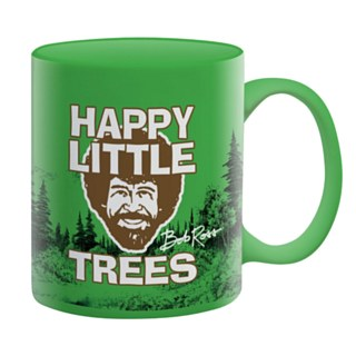 Bob Ross Happy Trees 11 Oz Mug