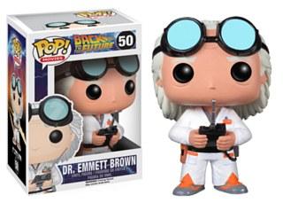 Dr. Emmett Brown Pop Figure