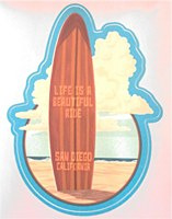 Beautiful Ride Large Sticker