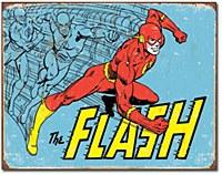 The Flash Retro Tin Sign
