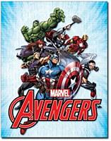 Avengers Ensemble Tin Sign