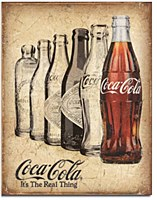 Coke - The Real Thing Tin Sign