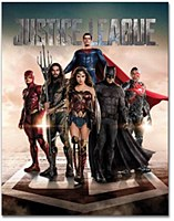 Justice League Movie Tin Sign