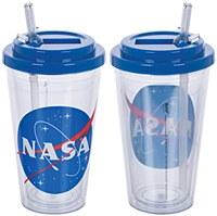 Nasa Flip Straw 16 Acrylic Cup