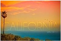 California Sunset Magnet