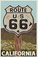 Ca - Route 66 Magnet