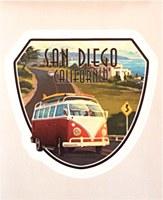 Camper Van Cruise Lg Sticker