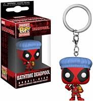 Bathtime Deadpool Pop Keychain