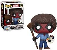 Deadpool As Bob Ross Pop
