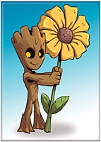 Groot And Daisy Magnet